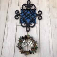 リクシルドア/LIXILドア/リクシル/LIXIL/ナチュラルキッチン/クリスマスリース/... ☆Merry Christmas☆ ナチ…