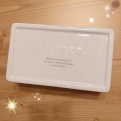 mamaikuko/ママイクコ/バターケース/キッチン雑貨/雑貨/インテリア/... ずっと買おうか悩んでいたバターケース❣️…