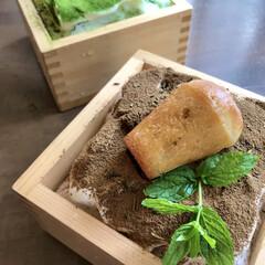 グルメ/料理/グルメ好きな人と繋がりたい/料理好きな人と繋がりたい/おうちごはん/ランチ/... 宇治抹茶のかき氷とほうじ茶のかき氷です。…