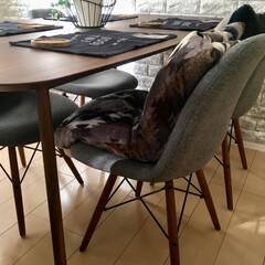 フランフラン/パスポート雑貨/HENRY/イームズチェア/インテリア/家具/... 新しいダイニングテーブル♡  これからの…
