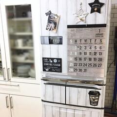 オリジナル年賀状/冷蔵庫リメイク/男前/リメイク/100均/セリア/... オリジナル年賀状もインテリアカードに♡ …