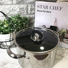 深鍋/MEYER/キッチン MEYERの深鍋をポイントで購入しました…