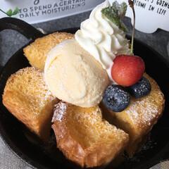フレンチトースト/ダルトン/スイーツ/フード/グルメ まるでプリン♡  フランスパンがプルプル…