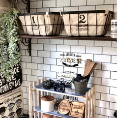 アフタヌーンティー/フランフラン/salut/3COINS/カフェ風/すのこ棚/... カフェトレイとすのこと木材で簡単すぎるカ…