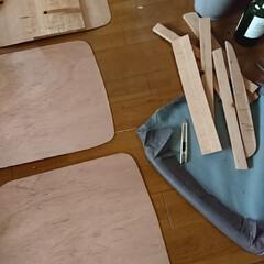 リサイクル/椅子修理/DIY/わたしの作業部屋 おはようございます🤗 本日も朝からやって…(3枚目)