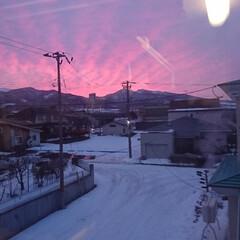 空/北海道/フォロー大歓迎 おはようございます🎵 お弁当を作りながら…