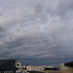 夏祭り/空/台風 現在の空‼️ 北海道は昼過ぎから台風の影…