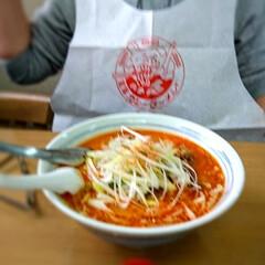 北海道カレーラーメン/担々麺/フォロー大歓迎/わたしのごはん/おうちごはんクラブ/おでかけ 今日はどうしても、担々麺食べたくて❗ パ…