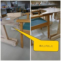 テーブル/車椅子/ハンドメイド/DIY/ダイソー ビッグダディ😎DIY‼️ 完成✨ バラバ…