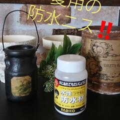 ハンドメイド/ペットなやさしい/DIY🛠️/水性/リメ鉢/リメ缶/... おはようございます🤗 最近、リメ缶や鉢の…