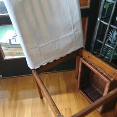 リサイクル/椅子修理/DIY/わたしの作業部屋 おはようございます🤗 本日も朝からやって…(6枚目)
