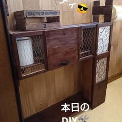 トイレ収納ボックス/ビッグダディ😎/すのこDIY/春のフォト投稿キャンペーン/令和の一枚/GW/... 北海道☀️一斉に桜🌸満開になりました⤴️…