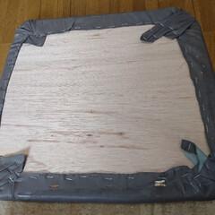 椅子様/捨てる前にリノベーション/DIY/わたしの作業部屋 こんばんは🐱 友カフェ☕椅子様修理リノベ…(3枚目)