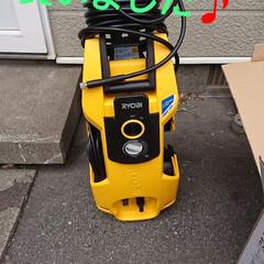 高圧洗浄機 AJP-1700VGQ 高圧洗浄機 リョービ | リョービ(高圧洗浄機)を使ったクチコミ「壁、屋根を洗う為に、リョウビの高圧洗浄機…」