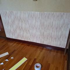 珪藻土 ローラーで簡単に塗れる珪藻土塗料 かんたん・あんしん珪藻土 10kg*WH10/BR10__ka-(ペンキ、塗料)を使ったクチコミ「再投稿です! リビングリノベーション🛠️…」(6枚目)