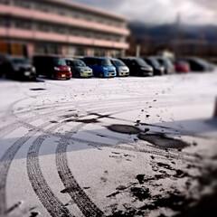雪/北海道 おはようございます🗻🏂⛄ 会社へ出勤・・…