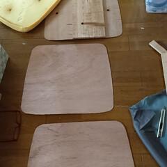 リサイクル/椅子修理/DIY/わたしの作業部屋 おはようございます🤗 本日も朝からやって…(1枚目)