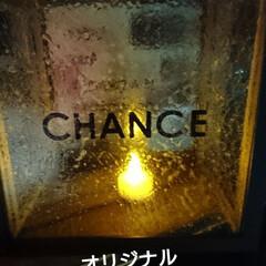 ターナー色彩 ガラスペイント 泡玉 40ml(ペンキ、塗料)を使ったクチコミ「秋の夜長のランプ💡DIY🛠️ キャンドゥ…」