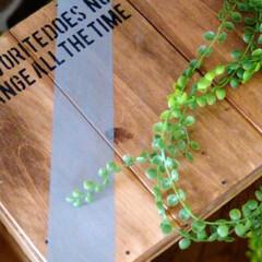 ソリッドカラー SC-03スカイグレー | 和信ペイント(Washi Paint)(ニス、ステイン)を使ったクチコミ「今日は古材を使い、男前DIY🛠️ すべて…」(3枚目)