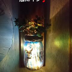ランプ/ガラスペイントターナー/キャンドゥ/ダイソー/セリア/100均/... 100均のLEDライトシリーズ凄い⤴️⤴…(4枚目)