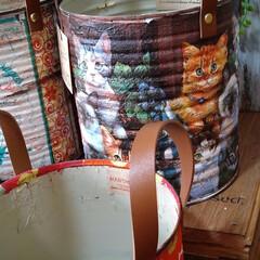 アンティーク エイジング 塗料 P-Effector ザラザラベース(ペンキ、塗料)を使ったクチコミ「おはようございます! 業務用ホールトマト…」(2枚目)
