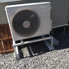 北海道/DIY女子/エアコン室外機カバーDIY/DIY/ハンドメイド 今日も気まぐれにDIY🛠️ エアコン室外…(4枚目)