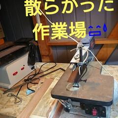 早朝DIY🛠️/DIY収納/DIY/わたしの作業部屋 おはようございます🤗 本日も早朝からガタ…