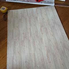 珪藻土 ローラーで簡単に塗れる珪藻土塗料 かんたん・あんしん珪藻土 10kg*WH10/BR10__ka-(ペンキ、塗料)を使ったクチコミ「再投稿です! リビングリノベーション🛠️…」(9枚目)