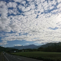 今日の空 北海道元気ですよ🎵 今日の空でーす。