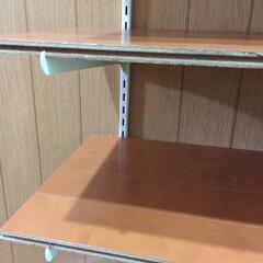 靴棚/フローリングの板 フローリング板で簡単に安く靴棚が出来ちゃ…