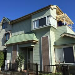 屋根外壁リフォーム/屋根リフォーム/外壁リフォーム/屋根ガルバ/ガルバリウム鋼板 春日部の施工前のお住まいです!  これか…