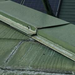 10年経った屋根/屋根/屋根工事 コロニアル、スレート屋根は、  10年経…