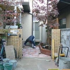 玄関アプローチ プチリフォームの・玄関アプローチ材料選び…