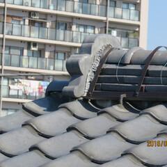 2階雨漏れ/屋根棟耐震補強/屋根耐震 2階雨漏れで、屋根の棟が怪しいんので、、…