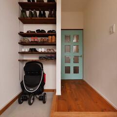 玄関/玄関収納/玄関土間/ベビーカー/靴収納/廊下/...