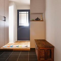 玄関/ニッチ/飾る/廊下/建具/塗装/...