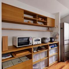 家電収納/収納/造作収納/家具/整理整頓/キッチン収納/...