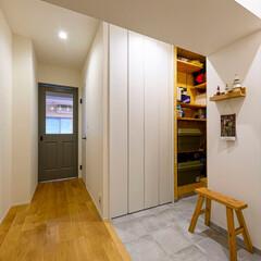 玄関/玄関収納/大容量収納/廊下/リビングドア/カラー/...