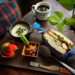 朝食/朝ごパン/LIMIAごはんクラブ/カフェ風ごはん/暮らし 2020.2.4 火曜日 今日朝ごパン …