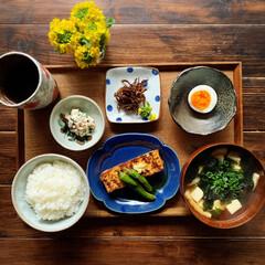 和食/いかなごの釘煮/いかなご/朝ごはん/おうちごはん   2021.3.12 金曜日 今日の朝…(1枚目)