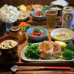 健康ごはん/低糖質ごはん/手料理/LIMIAごはんクラブ/夕飯/晩御飯/... 2020.6.13 土曜日 今日の晩御飯…