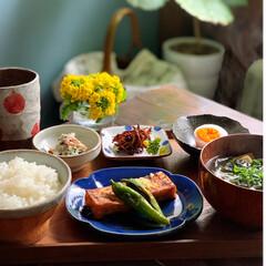 和食/いかなごの釘煮/いかなご/朝ごはん/おうちごはん   2021.3.12 金曜日 今日の朝…(2枚目)