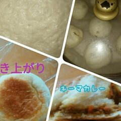 ドライカレー/ちぎりパン/鶏ハム/おうちごはんクラブ はじめて鶏ハム作りました。大きめはなんか…(2枚目)