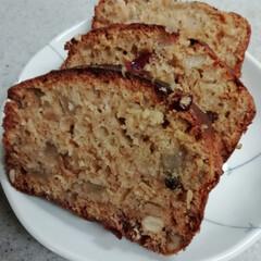 お菓子作り/アップル/パウンドケーキ 今日は、お仕事お休み… 久々にお菓子作り…