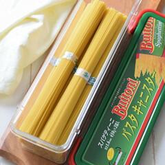 パスタの保存方法/パスタキャニスター/収納法/イタリア料理/イタリアン/ブイトーニのパスタキャニスター/... 前投稿写真のブイトーニのパスタキャニスタ…
