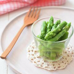 アスパラガス/レンチン/野菜の下処理/作り置き/冷蔵保存/リミとも部家事フォト/... アスパラガスは冷蔵庫の中で縦に入れるよう…