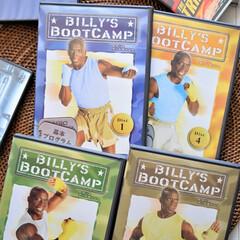 DVDコレクション/ビリーズ・ブート・キャンプ/エクササイズDVD/家の中で体を鍛える/BILLY'S BOOT CAMP/アメリカのエクササイズDVD/... 我が家にあるDVD、映画もたくさんありま…