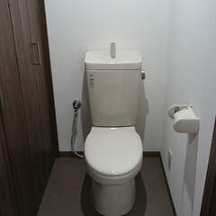 トイレ/建具/治療院/洗濯機パン 元々、ふろ、トイレが一緒のユニットバスが…