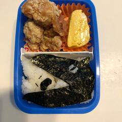 海苔アート/狼/お弁当 ヤギが狼に食べられたー弁当