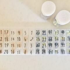 お薬収納/薬収納/ダイソー/ピルケース/サプリメント/薬/... 我が家のサプリ&毎日飲むお薬収納♪ 10…
